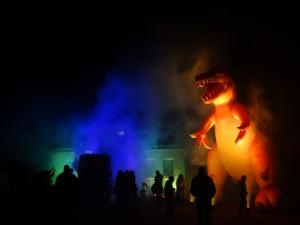 20151031 Halloween Dino gelb